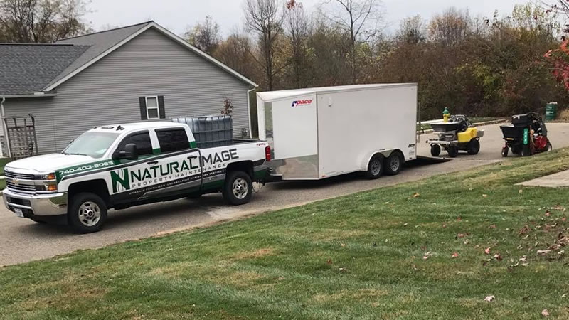 Natural Image Property Services Truck and Trailer and Equipment