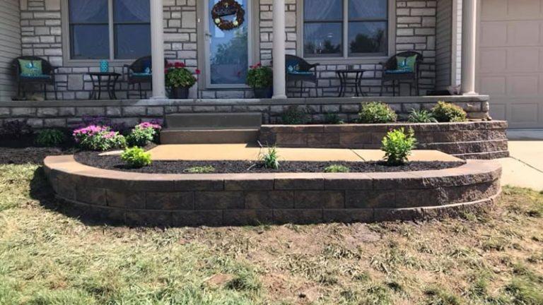 Complete Landscape Revamp In Newark Ohio