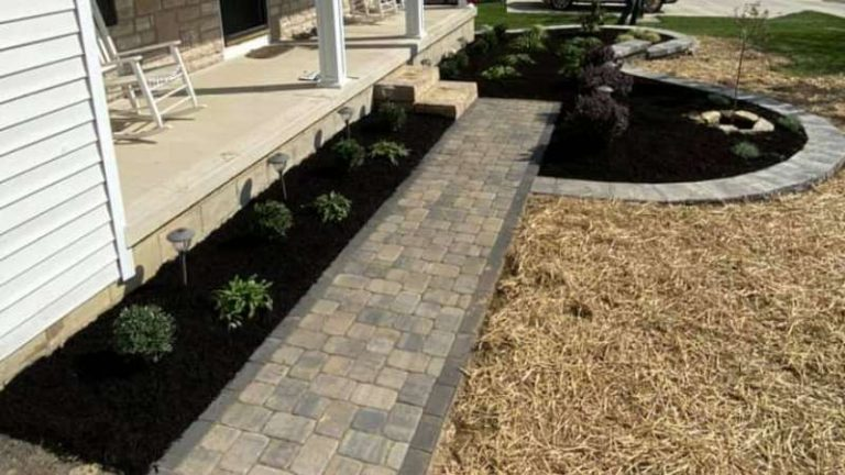 New Front Yard Makeover In Newark, OH